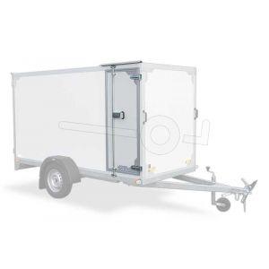 Optionele zijdeur in Twins Trailers gesloten aanhangwagen 150cm hoog