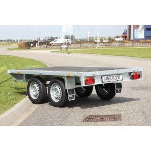 Eduard tandemas multitransporter zonder borden 260x150cm 750kg ongeremd lvh 63cm