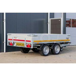 Eduard multitransporter 260x150cm 30cm aluminium borden laadvloerhoogte 72 cm 750kg ongeremd