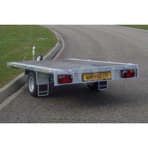 Eduard enkelas multitransporter zonder borden 260x150cm 1350kg lvh 63cm