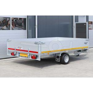 Eduard enkelas multitransporter met 40cm borden 310x160cm 1350kg lvh 56cm