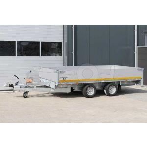 Eduard tandemas multitransporter met 40cm borden 310x160cm 2000kg lvh 56cm