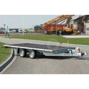 Eduard tandemas multitransporter zonder borden 310x160cm 2000kg lvh 63cm