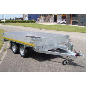 Eduard tandemas multitransporter 310x160cm met 40cm borden 310x160cm lvh 63cm
