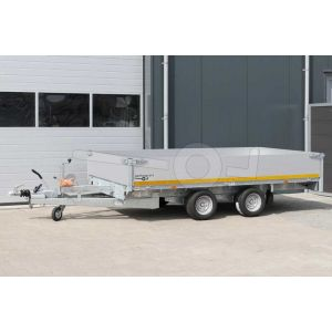 Eduard multitransporter tandemas met 40cm borden 310x160cm 2700kg lvh 56cm