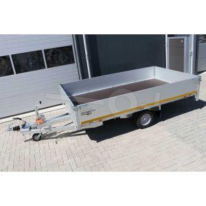 Eduard enkelas multitransporter met 40cm borden 310x180cm 1350kg lvh 56cm
