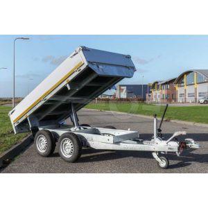 Eduard achterwaarts kipper aanhangwagen 260x150cm tandemas 2000kg
