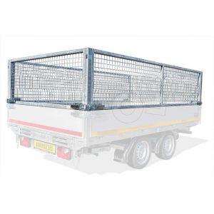 Loofrekken voor Eduard plateauwagen of multitransporter met een laadbak van 406 x 200 cm.