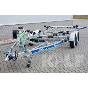 Skiboottrailer Kalf M 2500-67 670x210 cm 2500 kg
