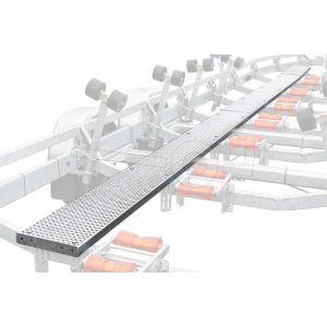 Twee meter loopplank voor Kalf boottrailer uit de R-serie