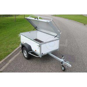 Verhuur bagagewagen, bakafmeting 175x100x60 (lxbxh),, week