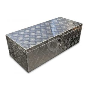 Aluminium materiaalkist, 760x330x245mm, voorzien van slot