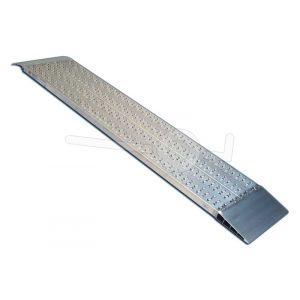 Aluminium oprijplaat Metalmec M040B2/25/2 250x42cm maximum draagvermogen 839kg