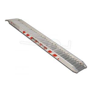 Aluminium oprijplaat Metalmec M070/30L 300x44cm maximum draagvermogen 542kg