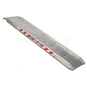 Aluminium oprijplaat Metalmec M100/30L 300x34cm draagvermogen1165kg