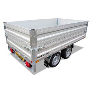 Opzetborden 265x165 (lxb bak) 35cm hoog voor Humbaur plateauwagen