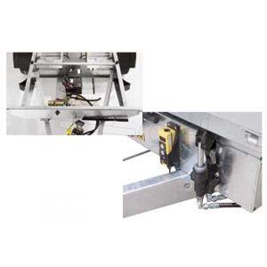 Optionele elektrische pomp voor handmatig bediende Humbaur kipper HUK 202715 en 272715