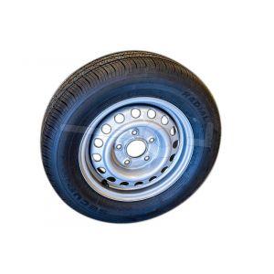 "Reservewiel 13"" voor Humbaur aanhangwagens Steely, HK752513-15P; H752010, HA752010, HA751611, HA752111, HA752113 en HK752010-15S."