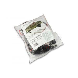 AL-KO grofmazig aanhangernet met elastiek rondom, netafmeting 400x250cm, maaswijdte 3x3cm