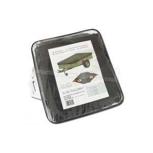 AL-KO fijnmazig aanhangernet PE (meshnet) met elastiek rondom, netafmeting 350x250cm