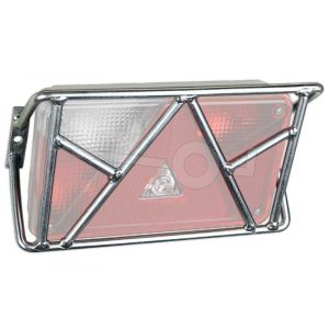 Achterlichtbeschermers breed, met driehoek, per paar