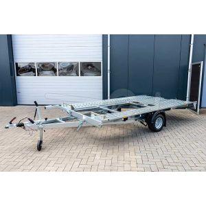 Blyss Sonda I enkelas kantelbare autotransporter 350x195cm 1500kg