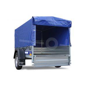 Huif compleet voor Blyss Maxx 204x110, 80cm hoog blauw, ongemonteerd