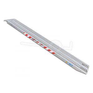 Aluminium oprijplaat Metalmec M060B3/20 200x32cm maximum draagvermogen 2250kg