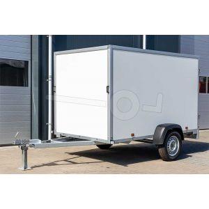 Voorzijde Power Trailer gesloten aanhangwagen PS nr2 200x100x120cm