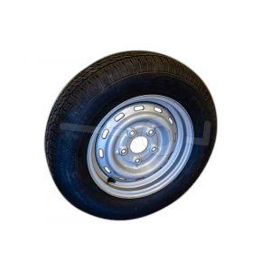 """Reservewiel 13"""" voor Humbaur aanhangwagens HT202616, HUK202715, HKT2000.27 HM752212, HM102212, Imola2000, Imola2500, HK102010-15S, HK752513-15S en HK162513-18S"""
