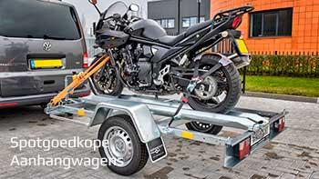 Video demonstratie Blyss enkelas ongeremde motortrailer