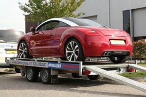 Verhuur van autotransporters