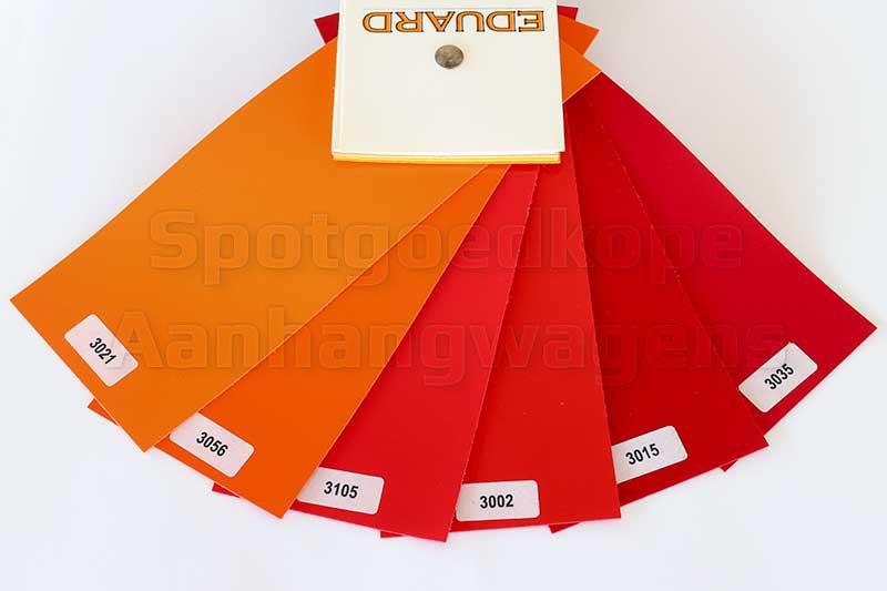 Leverbare rode kleuren van huiven voor Eduard Trailer