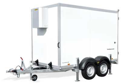 Humbaur HGK koelaanhangwagen met koelmotor