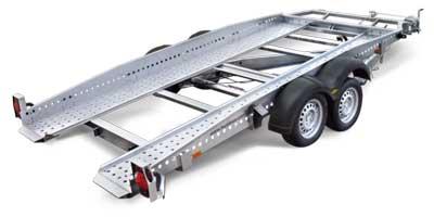 humbaur kantelbare autotransporter
