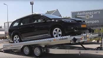 Video demonstratie Humbaur Lemans kantelbare autoambulance