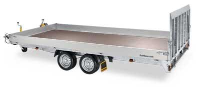 humbaur MTKA kantelbare multitransporter met oprijklep