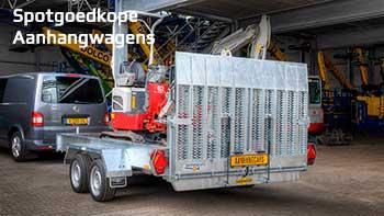 Video demonstratie Humbaur Senko machinetransporter elektrische bediening
