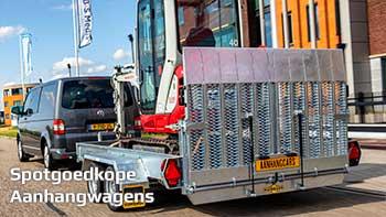 Video demonstratie Humbaur Senko machinetransporter