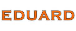 Logo van aanhangwagen fabrikant Eduard Trailers