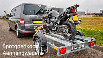 Video demonstratie Martz enkelas ongeremde motortrailer