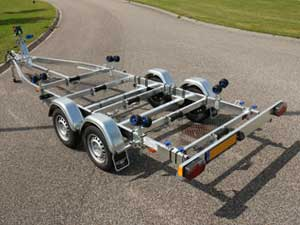 Motorboottrailer