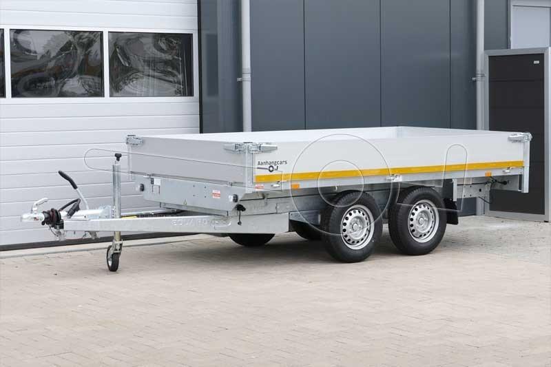 Eduard achterwaartse kipper 310x160cm 2000kg elektrische bediening