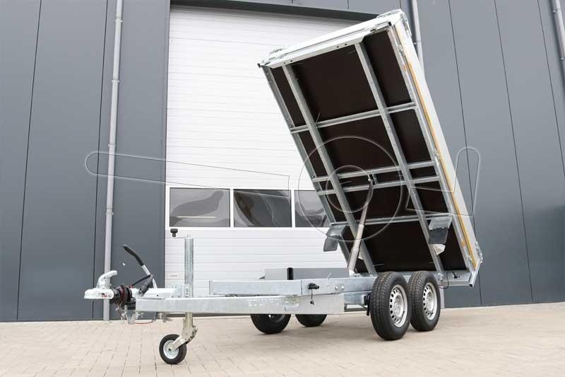 Eduard achterwaartse kipper 310x160cm 2700kg elektrische bediening