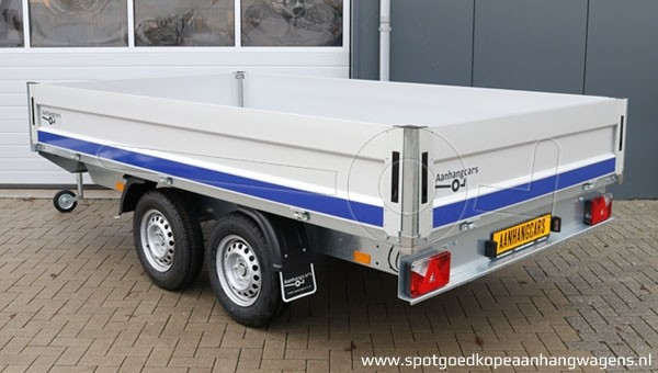 Plateauwagen tandemas Blyss Condor 2 330x180cm