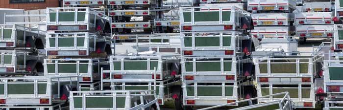 Voorraad spotgoedkope aanhangwagens